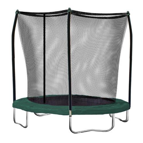 Skywalker Inc Redondo, trampolín con recinto de Seguridad Combo, Verde, Verde, 8