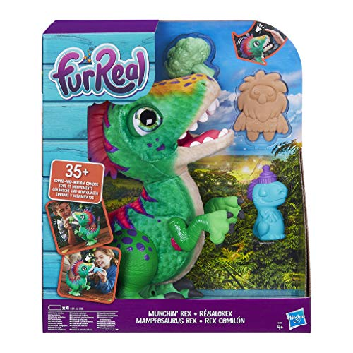FurReal Friends E0387EU4 FurReal Mampfosaurus Rex, elektronisches Haustier