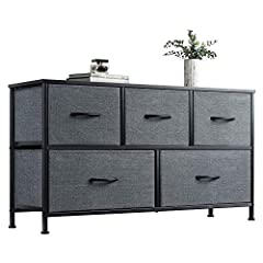 MULTIFUNCTION CABINET: Match perfectly with other WLIVE storage towers; This chest of drawers is great for closets, bedrooms, nurseries, playrooms, entryways and more SUFFICIENT STORAGE SPACE: Drawers are great for organizing your clothes, blankets, ...