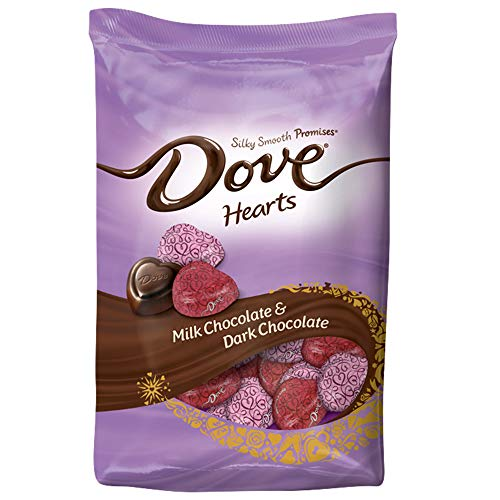 19.52oz Bag of Dove Promises Valentine Chocolate Candy Hearts  $6.28 at Amazon