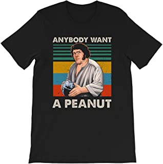 Anybody Want A Peanut Vintage Princess Bride Lovers Quote tv Show Movie Funny Gift for Men Women Girls Unisex T-Shirt