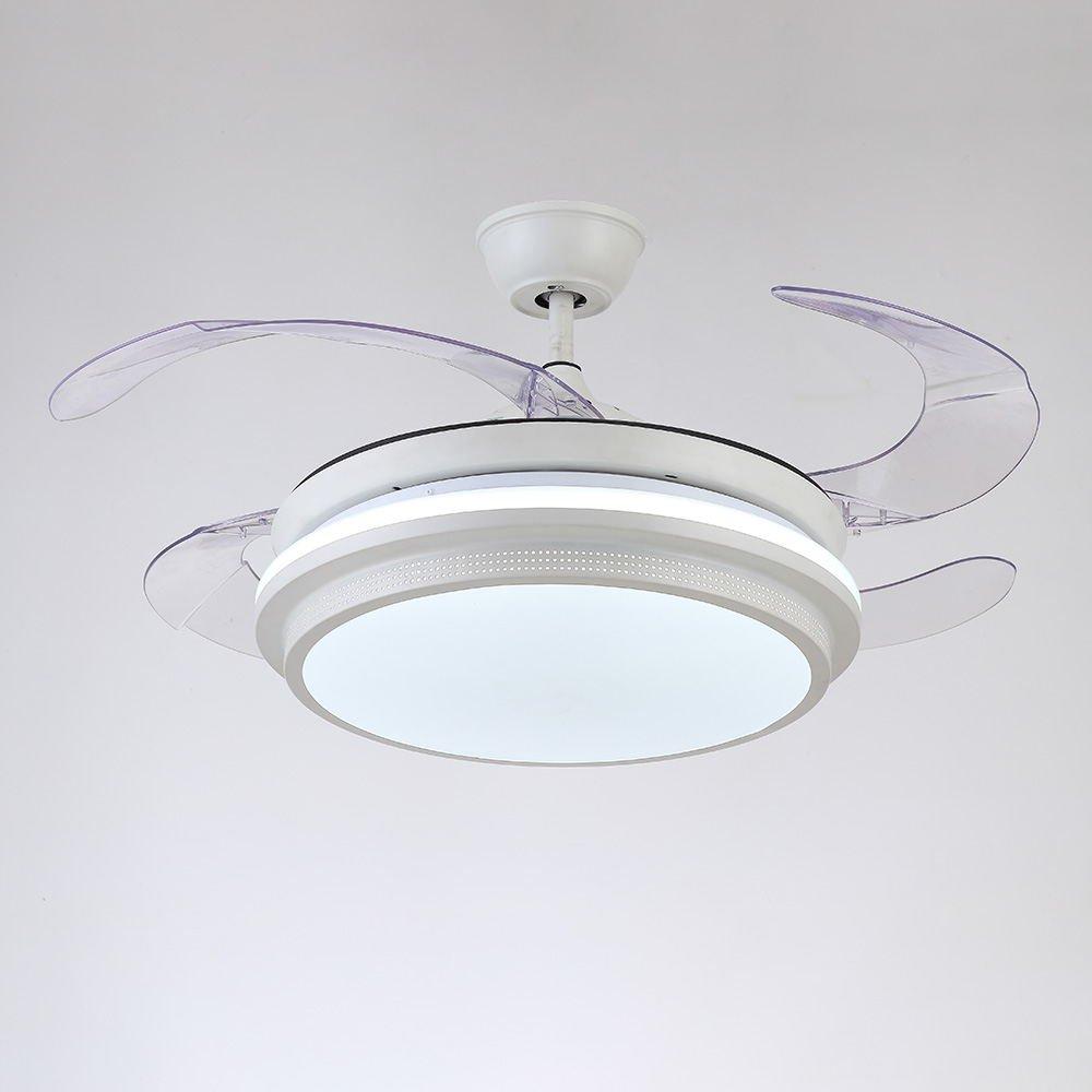 RS Iluminación 42 cm ventilador de techo simple estilo 72 W ...