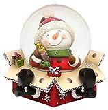 Bola de nieve original y divertida, tamaño aproximado:6,5x 6cm; 4,5cm de...