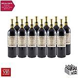 Primo Palatum Madiran Classica Rouge 1998 - Vin AOC Rouge du Sud-Ouest - Cépage Tannat - Lot de 12x75cl - 4 étoiles La Revue du Vin de France