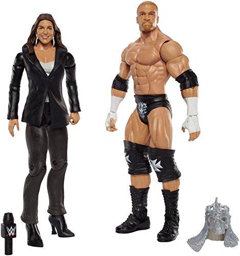 WWE Triple H and Stephanie Mcmahon Figure (2 Pack)