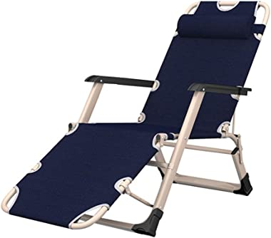 Folding Recliners Folding Recliner Lounge Chair Portable Zero Gravity Portable Indoor and Outdoor Multi-Angle Adjustment