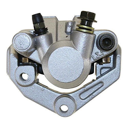 Bremssattel 1 Kolben vorne Silber - GY6 50ccm Roller, PGO, Adly, Baotian,Muz/MZ, Rex, Puma, Tank, Yamaha, Zongshen, Kymco Agility