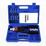 Remachadora de tuercas M5, M6, M8, M10, M12, remachadora ciega, herramienta remachadora