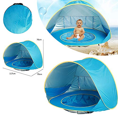 ZFLL outdoor tent Waterdichte Baby Infant Camping Zomer Strand Tent Baby Luifel Wandelen Water Pop Up Tent Zee Outdoor Reizen
