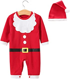 Baby Romper Christmas Clothes Newborn Jumpsuit Infant Outfit One Pieces Bodysuit