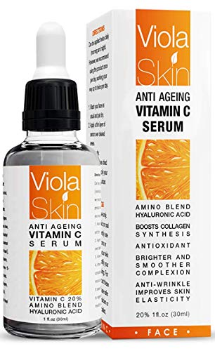 𝗣𝗥𝗘𝗠𝗜𝗨𝗠 Vitamin C Serum For Face with Hyaluronic...