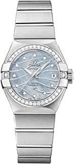 Constellation Blue Mother of Pearl Dial with Diamonds