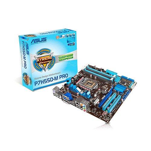 ASUS P7H55D-M PRO Mainboard Sockel LGA1156 Micro ATX DDR3 Speicher
