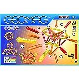 Geomag Classic Color Construcciones magnéticas y juegos educativos, 64 piezas (262), Multicolor