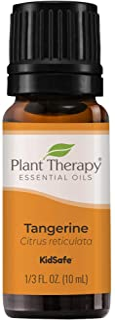 Plant Therapy Tangerine Essential Oil 10 mL (1/3 oz) 100% Pure, Undiluted, Therapeutic Grade