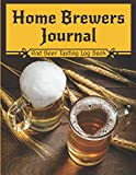 Home Brewers Journal - And Beer Tasting Log Book: Home brewer's notebook & tasting journal - Book to register up to 100 recipes of craft beer in ... - Gift Idea for Dads - Large Size - 208 pages