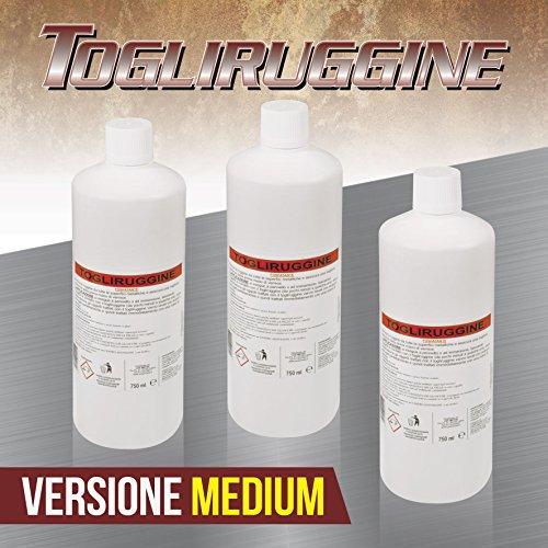 Lux Metal 3 Acido TOGLIRUGGINE FOSFATANTE Medium 750 ml