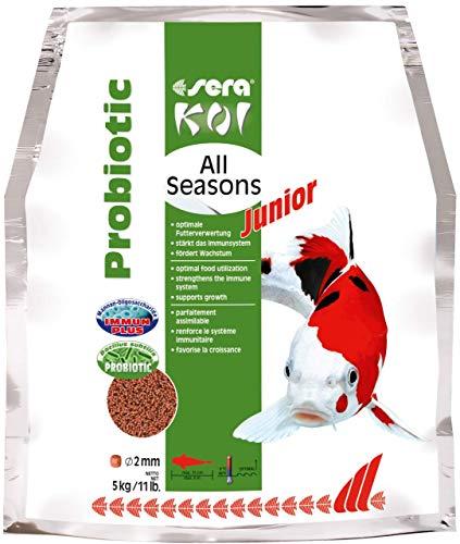 SERA Koi Junior All Seasons Probiotic Nourriture pour Aquariophilie 5000 g