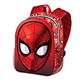 Karactermania Spiderman Spiderweb-Basic Rucksack Zainetto per bambini, 40 cm, 18.2 liters, Rosso (Red)