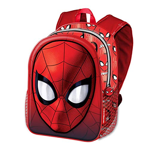 51kivRmEYbL - Karactermania Spiderman Spiderweb-Basic Rucksack Mochila Infantil 40 Centimeters 18.2 Rojo (Red)