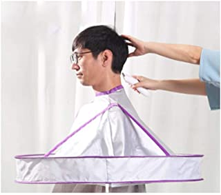 Waterproof Hair Styling Cape Adult haircut Hairdressing Cut hairHome Hair Coloring Haircut Cape Barber Gown Cloth