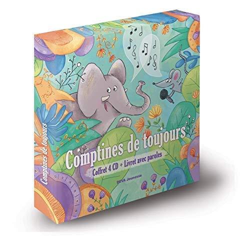 Comptines de Toujours (4CD & Livret des paroles)