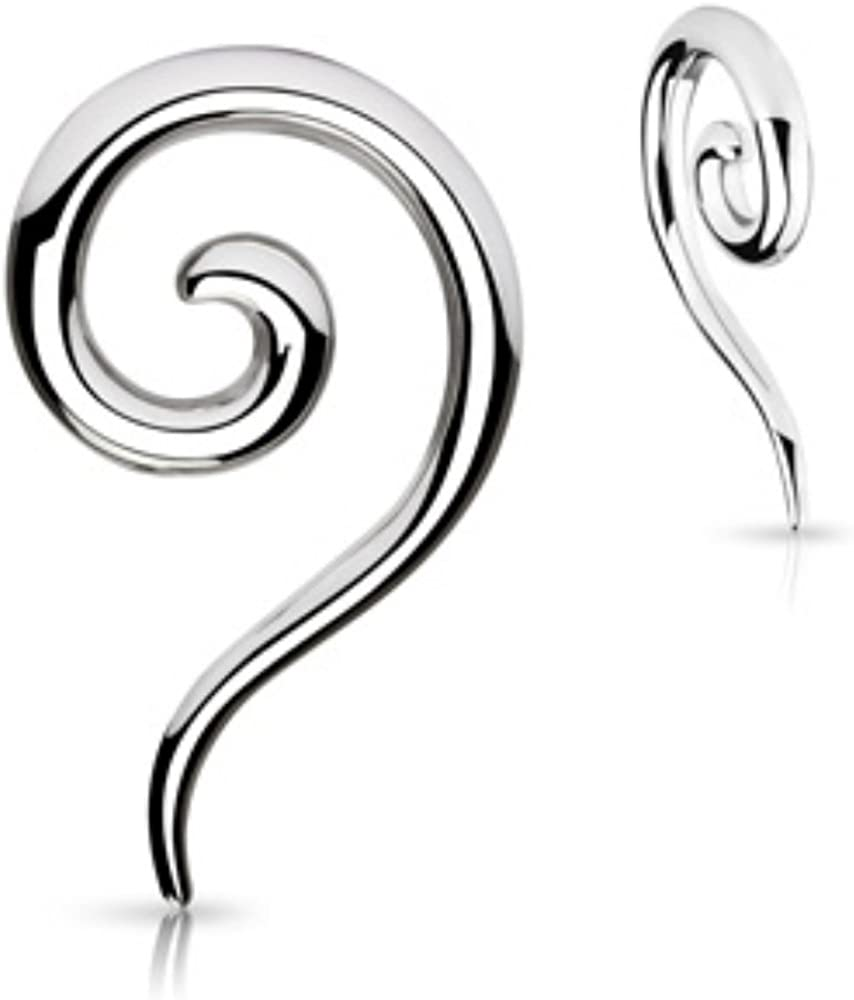 Spiral 316L Discount is also underway 2021 spring and summer new Steel WildKlass Taper Sold a as Pair