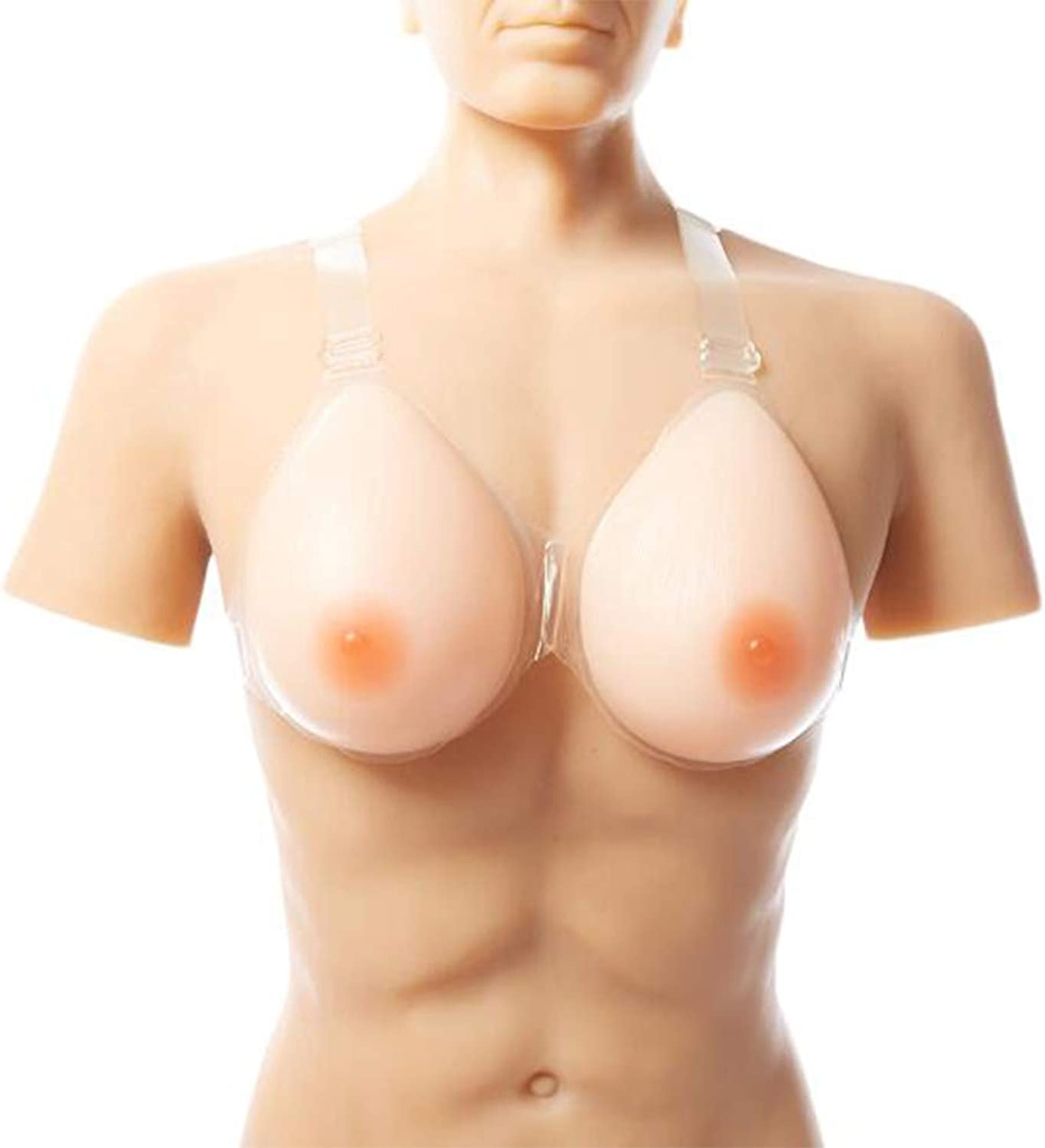 Boobs Realistic Silicone Breast Forms for Crossdressers Sexy Shemale Drag Queen Artificial Silicone Breast WaterDrop Shape