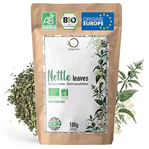 ORIGEENS TISANE ORTIE BIO 100g   Ortie feuille bio, infusion detox et reminéralisante   Feuilles d'ortie piquante bio