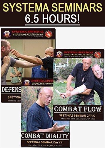 RUSSIAN SPETSNAZ TRAINING DVDs - 6.5 Hours of Russian Martial Arts Training - Street Self-Defense Instructional DVDs, Hand to Hand Combat Seminar