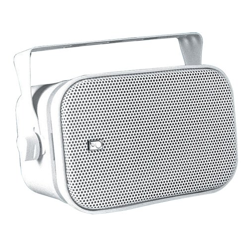 PolyPlanar Compact Box Speaker Pair White