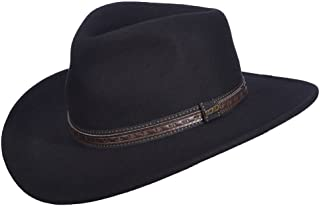 Men's Crushable Wool Outback Hat - Df105