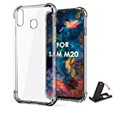 SCL Crystal Clear Case for Samsung Galaxy M20, Soft