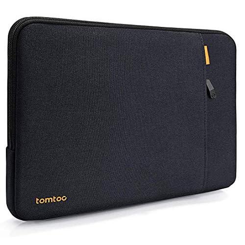 tomtoc 360°保護 耐衝撃 インナーケース 12 インチ MacBook用 ウルトラブック ノートブック タブレット、撥水加工、ブルーブラック