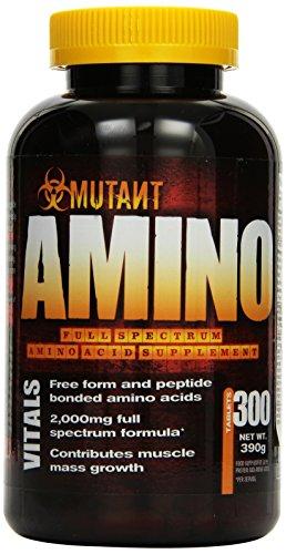 Mutant Amino - 300 Tablette, 1er Pack (1 x 390 g)