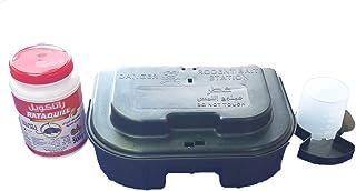 1 Pc of FULLSTOP Dual Purpose Rodent Bait Station,1 Pc Rataquill Gel 500g and 1 Pc Liquid Bait Dispenser. Effective Contro...