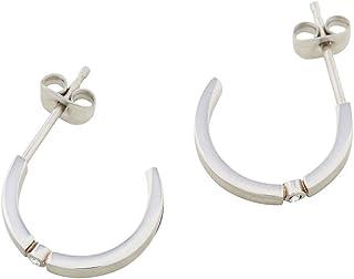 Esprit Laurel Earrings For Ladies , Stainless Steel , Eser00142100 - Silver