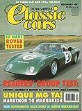 Thoroughbred & Classic Cars Magazine - December 1993