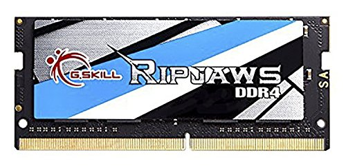 G.Skill Ripjaws, SO-DIMM 4GB DDR4-2133Mhz,Módulo de Memoria, 4 GB, 1 x 4 GB, DDR4, 2133 MHz, 260-pin SO-DIMM
