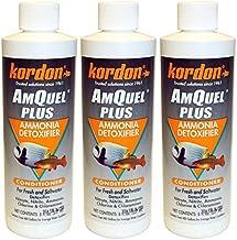 Kordon Amquel Plus Ammonia Detoxifier Aquarium Water Conditioner, 8 Ounces Each