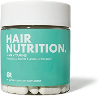 Sponsored Ad - Genesis Today - Hair Nutrition Strong Healthy Hair Support Supplement – 5,000 mcg Biotin, 400mg Collagen - ...
