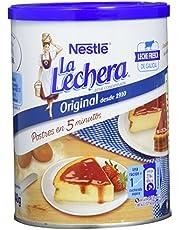 Nestlé La Lechera Leche condensada entera - Lata de leche condensada entera abre fácil - Caja de 12 x 740g