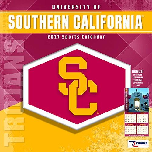 "Turner Licensing Sport 2017 USC Trojans Team Wall Calendar, 12""X12"" (17998011838)"