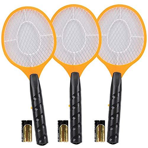 Harting & Helling 3 Stück elektrische Fliegenklatsche Fliegenfalle Mücken-Falle Insektenvernichter