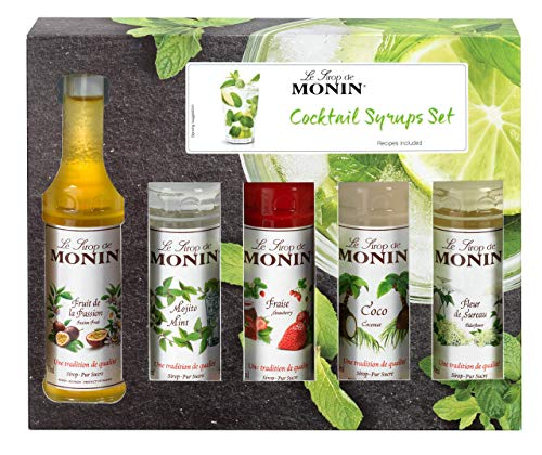 Monin Flavoured Cocktail Gift Set (5 mini bottles