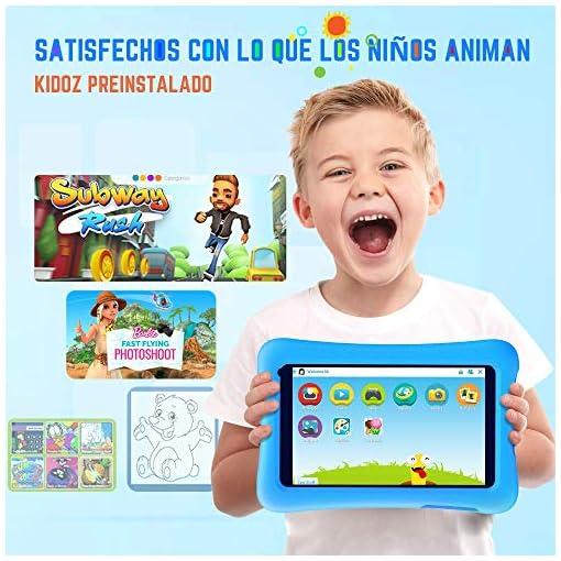 Vankyo Tablet para Niños con Cámaras de 5MP y 2MP, Tablet Infantil con ROM de 32GB, Tablet Niños con WiFi Processore… 3