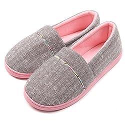 4. ChicNChic Cotton Knit House Slipper