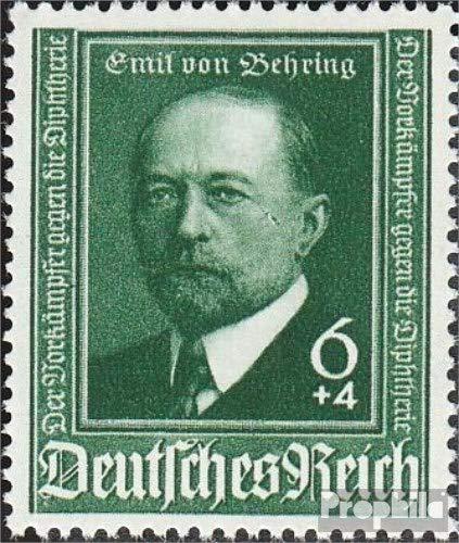 Prophila Collection Deutsches Reich 760III, dunkler Fleck auf der Wange (Feld 39) 1940 50 Jahre Diphterie-Serum (Briefmarken für Sammler) Gesundheit