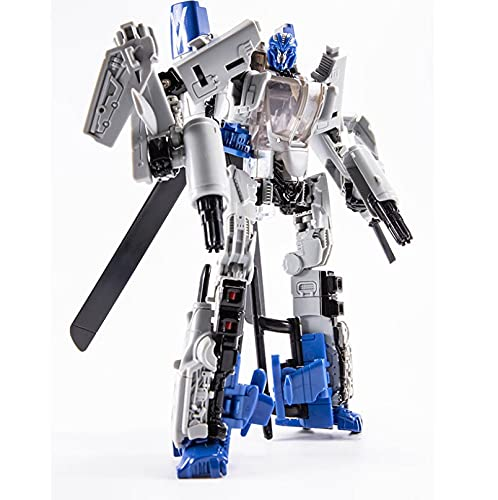 Transformers Robot Vehicle Toys H6001-7 Hurricane Deformation Toy King Kong SS Bounce Ball Helicopter Movie Series Deformation Plane Robot Truck Action Figure, Autobot for Children 7-14 Years Old
