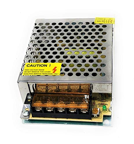 TEMPO DI SALDI Alimentatore 5 Ampere 12 Volt Per Striscia Led Stabilizzato 220V 60W